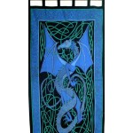 Celtic English Dragon Curtain - Blue at Tree of Life Journeys, Reconnect with Yourself - Meditation, Law of Attraction, Spiritual Products