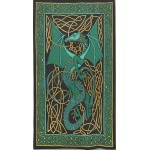Celtic English Dragon Tapestry - Twin Size Green at Tree of Life Journeys, Reconnect with Yourself - Meditation, Law of Attraction, Spiritual Products