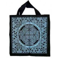 Celtic Knotwork Cotton Tote Bag Tree of Life Journeys Reconnect with Yourself - Meditation, Law of Attraction, Spiritual Products