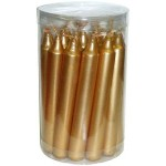 Gold Metallic Mini Taper Spell Candles at Tree of Life Journeys, Reconnect with Yourself - Meditation, Law of Attraction, Spiritual Products