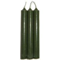 Green Mini Taper Spell Candles