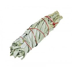 White Sage Small Smudge Stick Tree of Life Journeys Reconnect with Yourself - Meditation, Law of Attraction, Spiritual Products