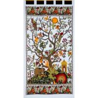 Tree of Life Curtain - White