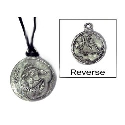 Pisces Zodiac Pewter Necklace Tree of Life Journeys Reconnect with Yourself - Meditation, Law of Attraction, Spiritual Products