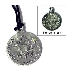 Sagittarius Zodiac Pewter Necklace Tree of Life Journeys Reconnect with Yourself - Meditation, Law of Attraction, Spiritual Products
