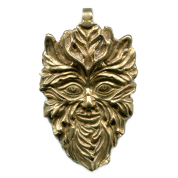 Green Man of the Woods God Pendant Tree of Life Journeys Reconnect with Yourself - Meditation, Law of Attraction, Spiritual Products
