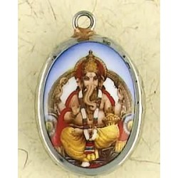 Ganesha Ceramic Necklace Tree of Life Journeys Reconnect with Yourself - Meditation, Law of Attraction, Spiritual Products