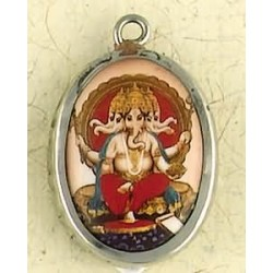 Ganesha Hindu Ceramic Necklace Tree of Life Journeys Reconnect with Yourself - Meditation, Law of Attraction, Spiritual Products