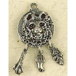 Bear Animal Spirit Pewter Necklace Tree of Life Journeys Reconnect with Yourself - Meditation, Law of Attraction, Spiritual Products