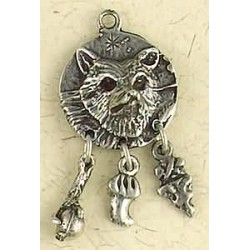 Coyote Animal Spirit Pewter Necklace Tree of Life Journeys Reconnect with Yourself - Meditation, Law of Attraction, Spiritual Products