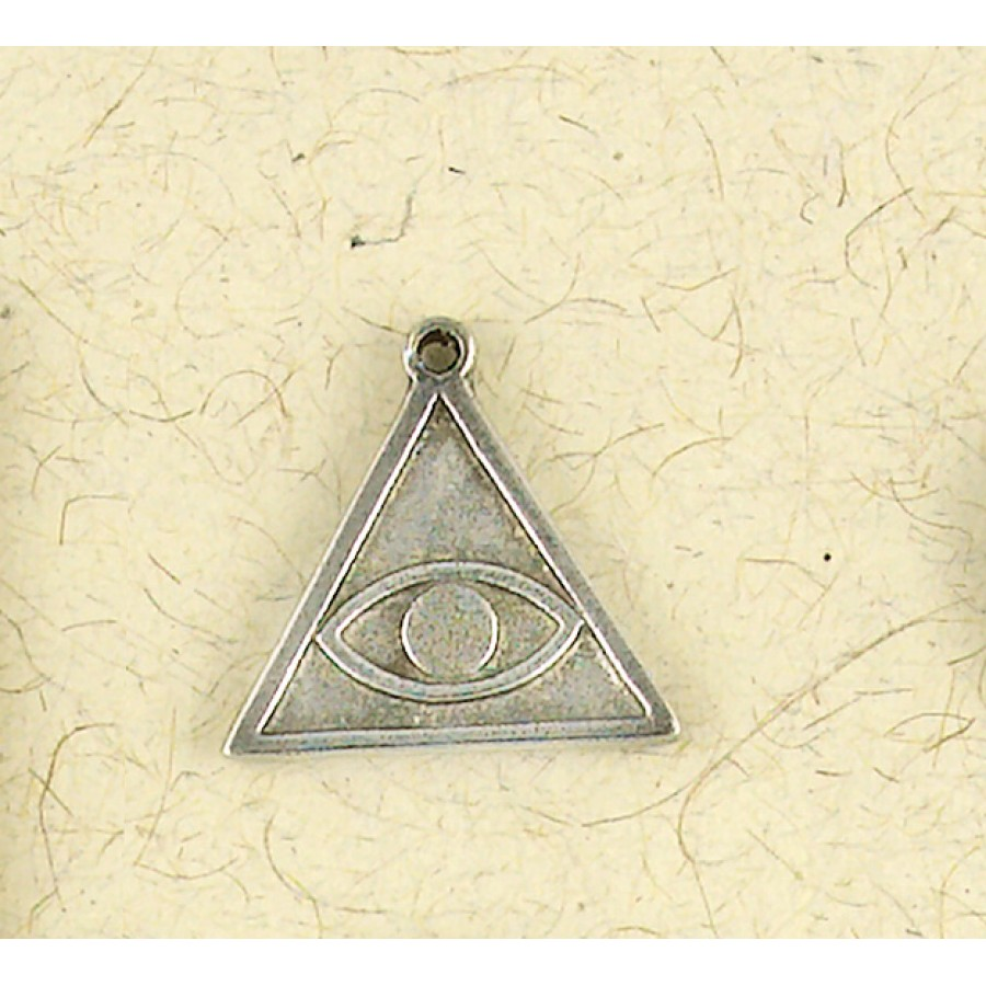 Iluminati all seeing eye pyramid symbol pewter necklace magic hermetic all seeing eye talisman necklace at tree of life journeys reconnect with yourself meditation biocorpaavc