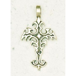 Gothic Cross Bronze Necklace Tree of Life Journeys Reconnect with Yourself - Meditation, Law of Attraction, Spiritual Products