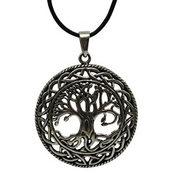 Celtic Tree of Life Pewter Necklace