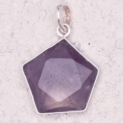 Amethyst 5 Point Prisma Star Pendant Tree of Life Journeys Reconnect with Yourself - Meditation, Law of Attraction, Spiritual Products