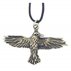 Celtic Raven Pewter Necklace Tree of Life Journeys Reconnect with Yourself - Meditation, Law of Attraction, Spiritual Products
