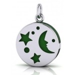 Silver Moon Aromatherapy Pendant at Tree of Life Journeys, Reconnect with Yourself - Meditation, Law of Attraction, Spiritual Products