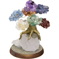 7 Chakras Gemstone Wishing Tree Tree of Life Journeys Reconnect with Yourself - Meditation, Law of Attraction, Spiritual Products