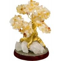 Citrine Gemstone Wishing Tree