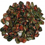 Unakite Tumbled Stones - 1 Pound Bag at Tree of Life Journeys, Reconnect with Yourself - Meditation, Law of Attraction, Spiritual Products