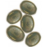 Pyrite Worry Stone at Tree of Life Journeys, Reconnect with Yourself - Meditation, Law of Attraction, Spiritual Products