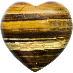 Tiger Eye Heart Stone Tree of Life Journeys Reconnect with Yourself - Meditation, Law of Attraction, Spiritual Products