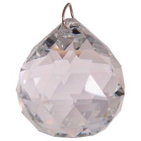 Crystal Prism Faceted Sphere