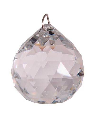 Crystal Prism Faceted Sphere at Tree of Life Journeys, Reconnect with Yourself - Meditation, Law of Attraction, Spiritual Products