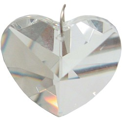 Crystal Prism Faceted Heart Tree of Life Journeys Reconnect with Yourself - Meditation, Law of Attraction, Spiritual Products