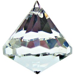 Crystal Prism Faceted Diamond Tree of Life Journeys Reconnect with Yourself - Meditation, Law of Attraction, Spiritual Products