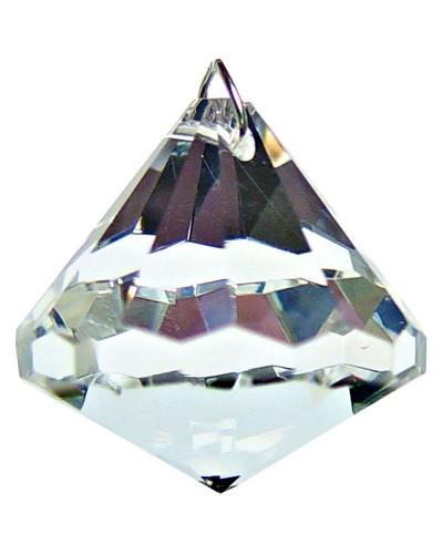 Crystal Prism Faceted Diamond at Tree of Life Journeys, Reconnect with Yourself - Meditation, Law of Attraction, Spiritual Products