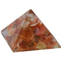 Carnelian Sacral Chakra Orgone Pyramid