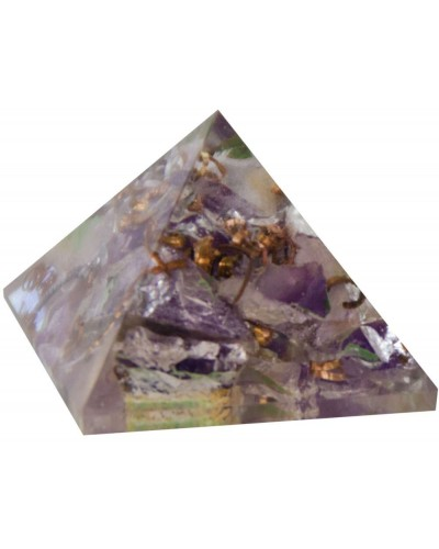 Amethyst Crown Chakra Orgone Pyramid at Tree of Life Journeys, Reconnect with Yourself - Meditation, Law of Attraction, Spiritual Products