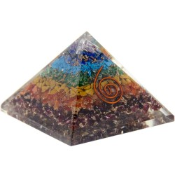 7 Chakras Orgone Pyramid Tree of Life Journeys Reconnect with Yourself - Meditation, Law of Attraction, Spiritual Products