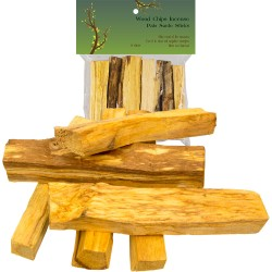 Palo Santo Wood Incense Sticks - 2 oz Tree of Life Journeys Reconnect with Yourself - Meditation, Law of Attraction, Spiritual Products