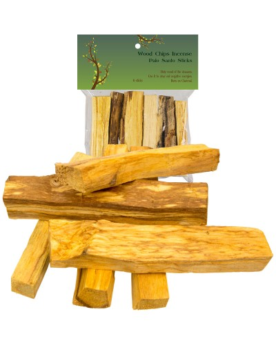 Palo Santo Wood Incense Sticks - 2 oz at Tree of Life Journeys, Reconnect with Yourself - Meditation, Law of Attraction, Spiritual Products