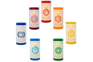 Pillar Candles Tree of Life Journeys Reconnect with Yourself - Meditation, Law of Attraction, Spiritual Products