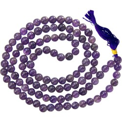 Amethyst Prayer Bead Mala Tree of Life Journeys Reconnect with Yourself - Meditation, Law of Attraction, Spiritual Products