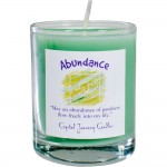 Abundance Soy Glass Votive Spell Candle at Tree of Life Journeys, Reconnect with Yourself - Meditation, Law of Attraction, Spiritual Products