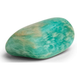 Amazonite Tumbled Stone for Clarity Tree of Life Journeys Reconnect with Yourself - Meditation, Law of Attraction, Spiritual Products