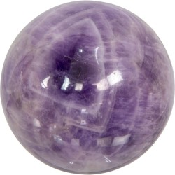 Amethyst Gemstone Sphere for Serenity Tree of Life Journeys Reconnect with Yourself - Meditation, Law of Attraction, Spiritual Products