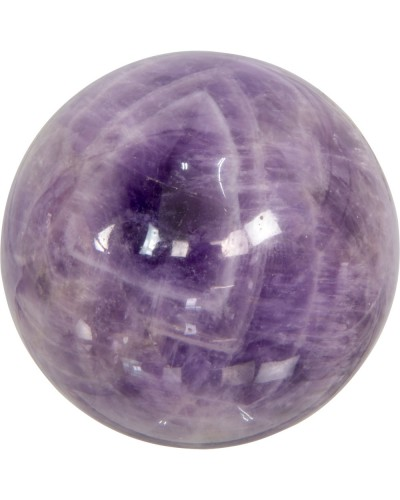 Amethyst Gemstone Sphere for Serenity at Tree of Life Journeys, Reconnect with Yourself - Meditation, Law of Attraction, Spiritual Products