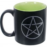 Pentacle Ceramic Mug at Tree of Life Journeys, Reconnect with Yourself - Meditation, Law of Attraction, Spiritual Products