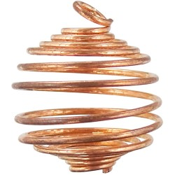 Copper Gemstone Holder Pendant Tree of Life Journeys Reconnect with Yourself - Meditation, Law of Attraction, Spiritual Products
