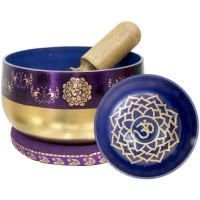 Crown Chakra Small Singing Bowl Set