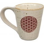 Flower of Life 10 oz Ceramic Mug at Tree of Life Journeys, Reconnect with Yourself - Meditation, Law of Attraction, Spiritual Products