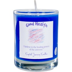 Good Health Soy Glass Votive Spell Candle Tree of Life Journeys Reconnect with Yourself - Meditation, Law of Attraction, Spiritual Products