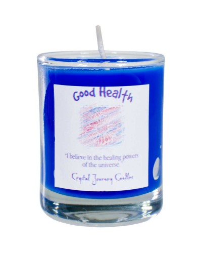 Good Health Soy Glass Votive Spell Candle at Tree of Life Journeys, Reconnect with Yourself - Meditation, Law of Attraction, Spiritual Products