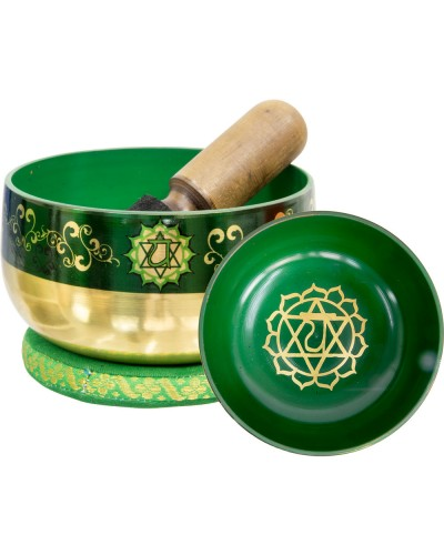 Heart Chakra Small Singing Bowl Set at Tree of Life Journeys, Reconnect with Yourself - Meditation, Law of Attraction, Spiritual Products