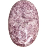 Lepidolite Palm Stone for Peace and Emotional Balance