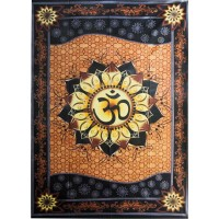 Om Lotus Tapestry